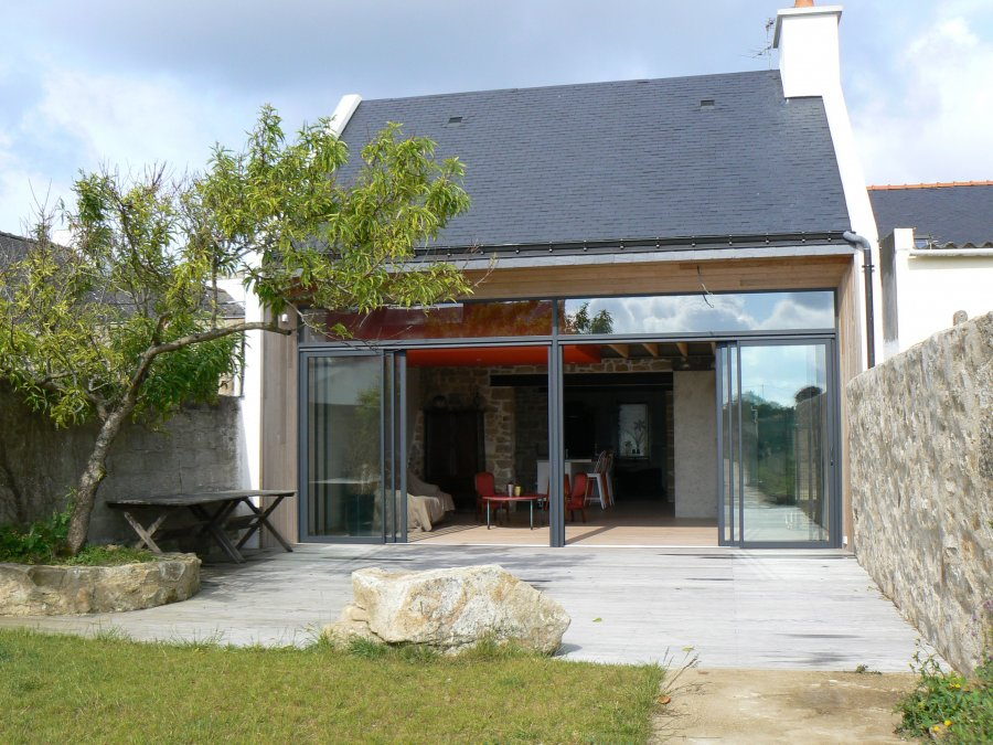Extension r habilitation d 39 une maison de p cheur atelier for Prix d une extension de maison